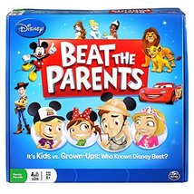 Disney Beat The Parents Board Game - Who Knows Disney Best? - $14.85