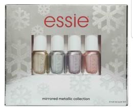 SEALED Essie Mirrored Metallic Collection 4 Nail Lacquer Polish Set NISB - $13.12