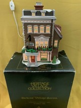 Dept. 56 Dickens' Village CROWN & CRICKET INN 1ST EDITION 1992 lighted b... - $35.00