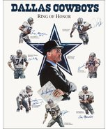 """Dallas Cowboys Memorial Football Collectible """"Ring Of Honor"""" Stand-Up Di... - $15.99"""
