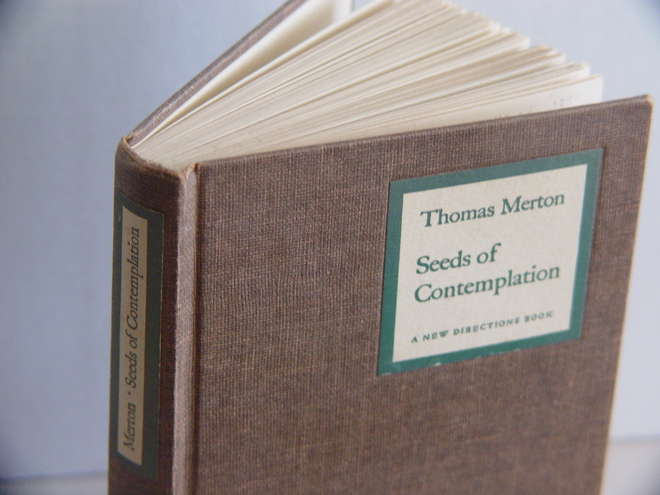 1st Edition Seeds of Contemplation by Thomas Merton