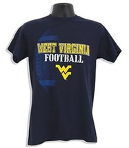 West Virginia Mountaineer's Pigskin T-Shirt Size X Large - $15.00