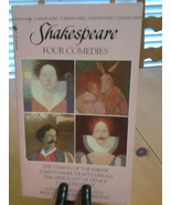 Shakespeare Four Comedies A Bantam Classic, Paperback VG, Free Freight - $8.55