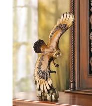 Soaring American Bald Eagle Statue Nature Wildlife Figurine Eagle Sculpture - $24.00