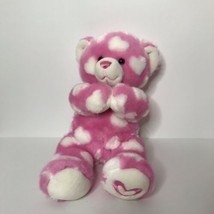 "Build A Bear Workshop Bear Hearts Plush Stuffed Animal 16"" Magnetic Hands - $24.63"