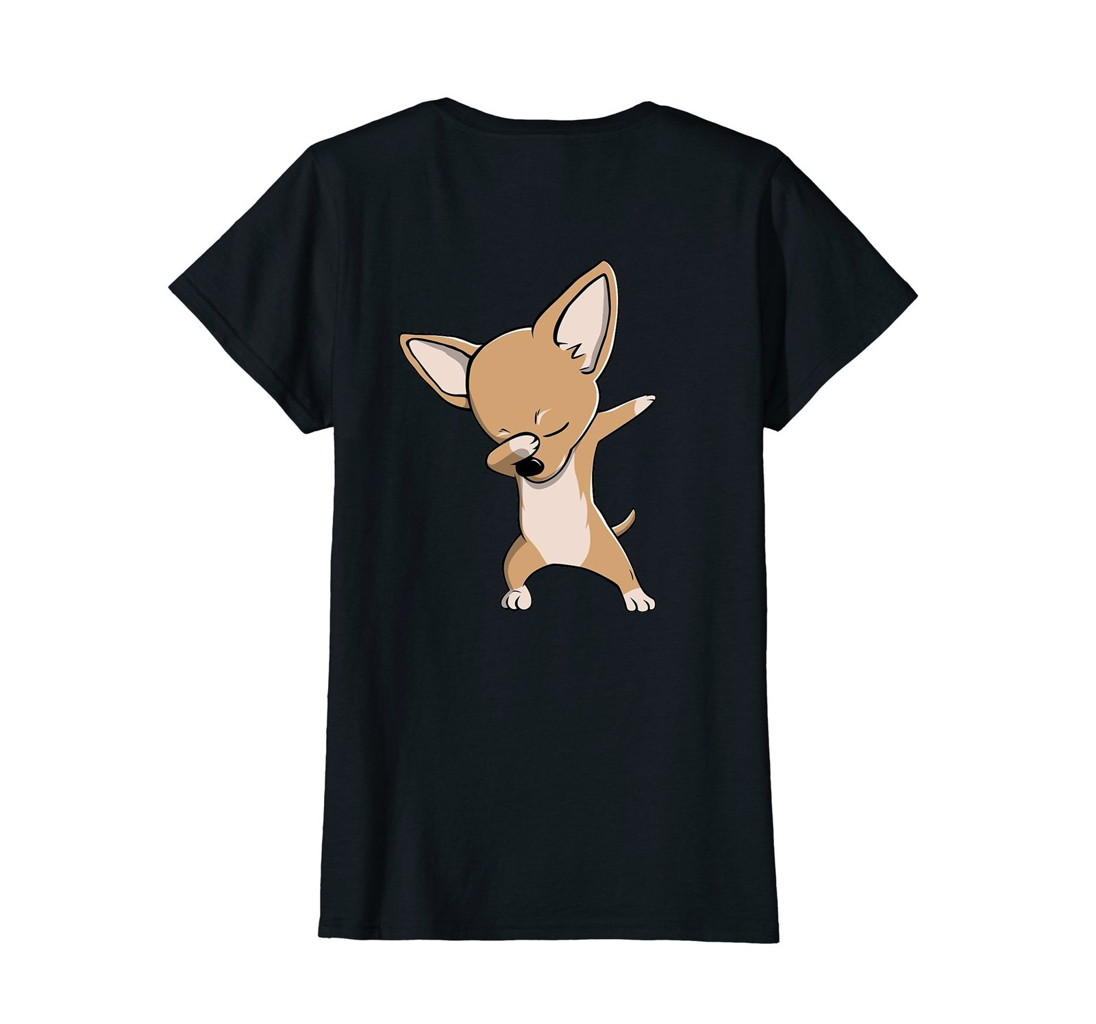 Funny Dabbing Chihuahua Dog Birthday Party Gift Shirt