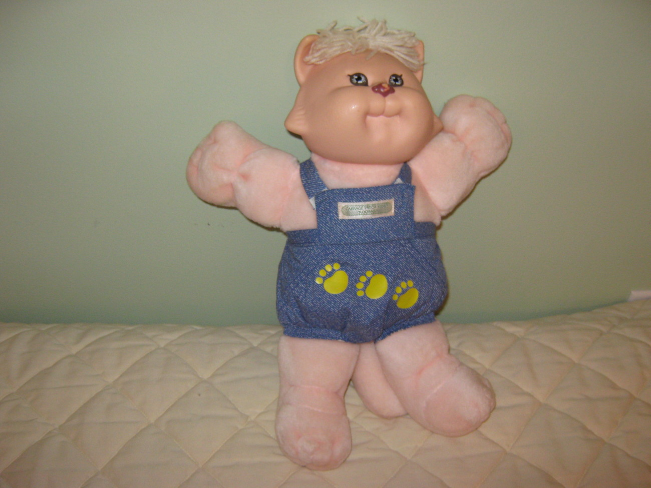 "Cabbage Patch Koosa ""Pink Cat"""