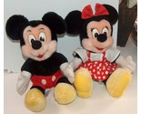 Mickey and minnie mouse plush dolls thumb155 crop