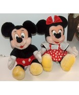 Mickey and Minnie Mouse Set of Plush Dolls - $19.99