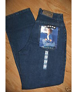 Ladies RIDERS LEE Misses Eased Fit 6 M Dark Blue JEANS 5 pocket Straight... - $14.99