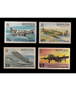 Bermuda Unfranked Stamp Set - 75th Anniversary of the RAF - $8.80