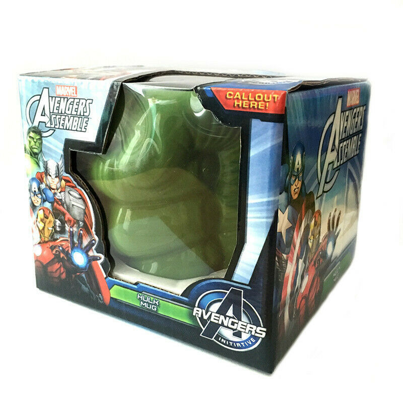 LOULONG® Hot Marvel Comics Avengers Super Hero Hulk Fist Green Mauley Creative