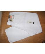 Ladies Dockers Go Kahaki Soft White Jeans Sz 18 Stain Defender Dupont Te... - $16.99
