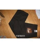 Steve Barrys Twill Cotton Stretch Casual Black Khaki Ladies Capri Pants ... - $21.99