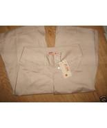 Ladies Joy Jeans Stretch Low Ride Wide Capri Khaki beige Pant Sz 5 NEW J... - $9.99