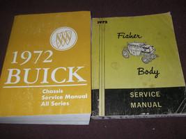 1972 Buick Estate Gs Lesabre Riviera Skylark Service Repair Shop Manual Set 2 - $143.50