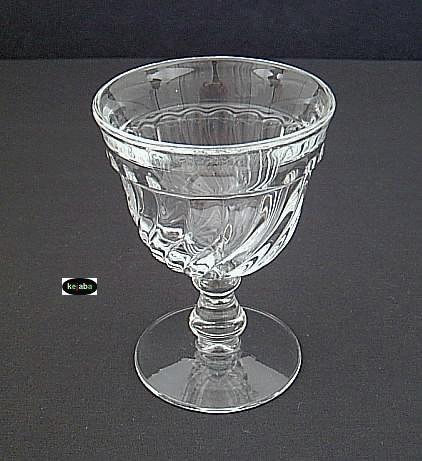 Fostoria Colony Crystal Goblet 5 1/4 In. Water Stem