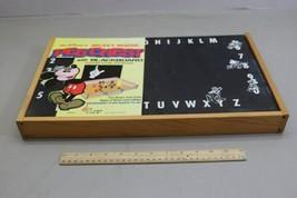 Rare Unused Vintage Disney Mickey Mouse Peg Chest Blackboard USA Made Schwab image 2