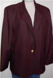 Chocolate Brown Halter Horse Show Jacket Plus Size 14