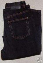 Calvin Klein Black Denim Jeans Sz 4 Western Horse Show - $40.00