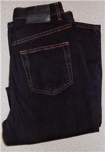 Calvin Klein Black Denim Jeans Sz 4 Western Horse Show