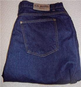 LA Blues Denim Jeans Western Apparel Plus Size 20