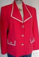 Pink & White Rail Western Halter Horse Show Jacket 12