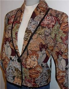 Kittens & Cats Western Rail Halter Horse Show Jacket L