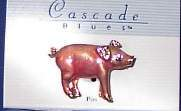 Pink Pig Enamel Horse Show Jewelry Pin Brooch SHOWTIME!