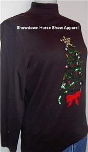 Western Horse Show Hobby Slinky Sequin Christmas Tree M