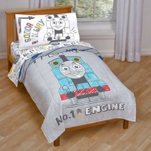 * NEW * Nickelodeon Thomas & Friends Toddler 4-Piece Bed Set (Kayleigh &... - $49.99