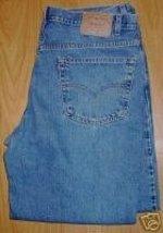 Levi Blue Denim Jeans 40 X 32 Relaxed Fit 550 SHOWTIME - $40.00