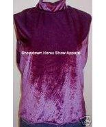 Shimmery Purple Western Horse Show Slinky Plus Size XL - $38.00