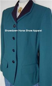 Green & Navy Western Halter Horse Show Hobby Jacket 10