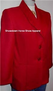 Burgandy Western Halter Horse Show Hobby Jacket Sz 4P