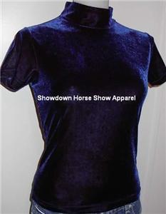 Blue Western Halter Horse Show Hobby Apparel Slinky M