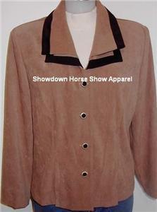 Tan Black Western Halter Horse Show Hobby Jacket 12