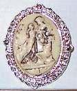 Ladies Cameo Horse Show Jewelry Pin Brooch SHOWTIME