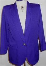 Purple Western Halter Horse Show Jacket 10 Showmanship - $40.00