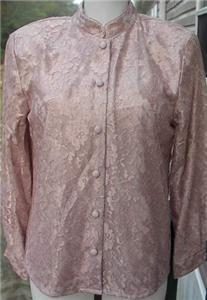Beige Lace Western Rail Halter Horse Show Shirt 12P