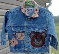 Kids Bear Western Denim Horse Show Jacket Sz 12 Months - $24.99