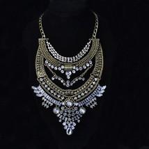 2016 New Gypsy Vintage Maxi Jewelry Trendy Collar Ethnic Bohemian Statem... - $18.36