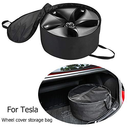 Farmogo Tesla Model 3 Aero Wheel Cover Storage Bag Water-Proof Wheel Cap Organiz