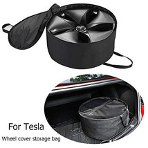Farmogo Tesla Model 3 Aero Wheel Cover Storage Bag Water-Proof Wheel Cap Organiz image 1