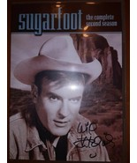 SUGARFOOT DVD : Season 2, Autographed by Will Hutchins  - $29.69