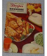 Old Vintage Kenmore Electric Servants Recipe Cookbook 1950 - $5.00
