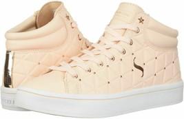 Skecher Street Women's Hi-Lite-Triangle De-Boss Sneaker, Light Pink,9 M US - $49.49