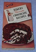Baker's Favorite Chocolate Recipes Cookbook - $5.00