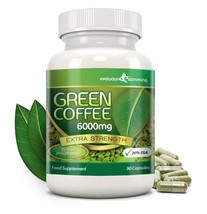 Green Coffee Bean Pure 6000mg with 20% CGA 90 Capsules (1 Month) - $25.99