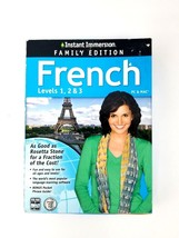 Instant Immersion Family Edition French Levels 1,2 & 3 PC & Mac Foreign Language image 1